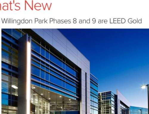 Willingdon Park Phases 8 and 9 are LEED Gold